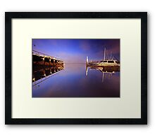"""From the Pontoon"" Framed Print"