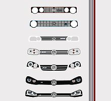 VW Golf stripes by AutomotiveArt
