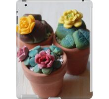 teeny tiny plants iPad Case/Skin