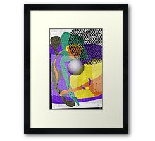 Dot Patterns Framed Print