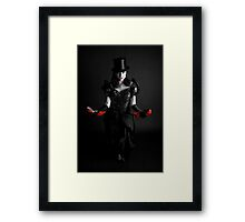 Blood on My Feet Framed Print