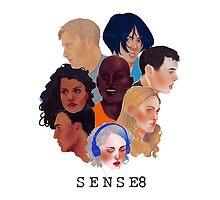 Sense8 by Charlotte Gilbert