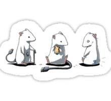 Hightech mice Sticker