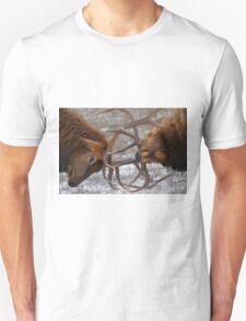 Bull Elk In The Rut Unisex T-Shirt