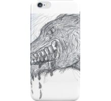 MAD WOLF iPhone Case/Skin