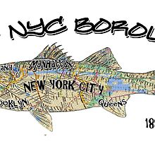 New York City Fishing in Every Borough  by hookink