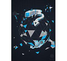 Oblique Technique Art V1.0 Photographic Print