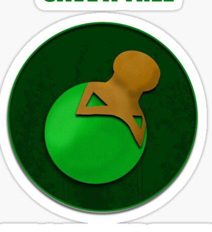 Save a Tree Use a Healing Salve Sticker