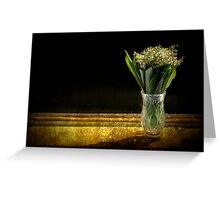 Beauty of the Valley Greeting Card