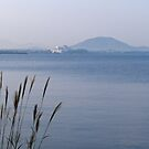 Morning light on Lake Biwa, Japan. by johnrf