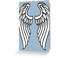 Vector Wings Greeting Card