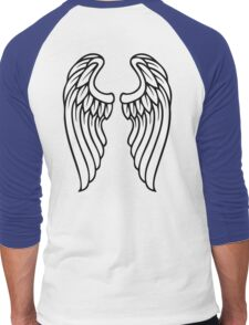Vector Wings Men's Baseball ¾ T-Shirt