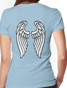 Vector Wings Womens Fitted T-Shirt