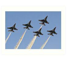 USAF Thunderbirds Art Print
