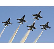 USAF Thunderbirds Photographic Print