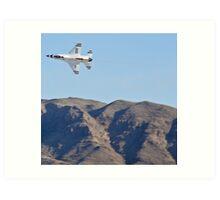 USAF Thunderbirds Solo Art Print