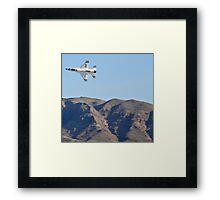 USAF Thunderbirds Solo Framed Print