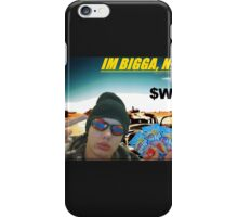 The first Bigga Nigga Gear of lots more to come, i put the proces as low as i can beacause im not a Adam Boon and i dont need the money iPhone Case/Skin