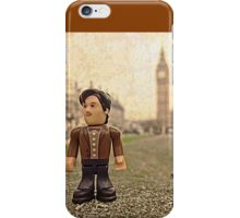 Dr Who at Big Ben iPhone Case/Skin