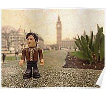 Dr Who at Big Ben Poster
