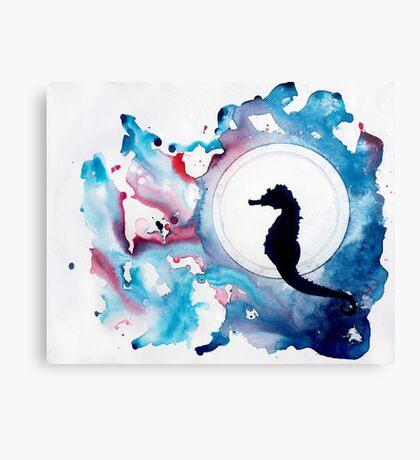 Seahorse Dreams Canvas Print