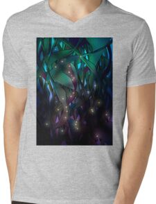 Nocturne (with Fireflies) Mens V-Neck T-Shirt