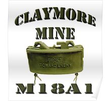 Claymore Mine Poster