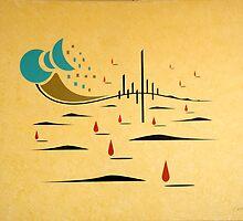 Badlands Gabriel by Russ Henry