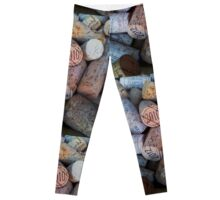 Wine Corks Leggings