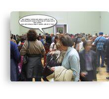 Cheryl Meets Mona Lisa Metal Print