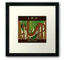 Earth Dancer Framed Print
