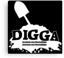 DJ Digga Canvas Print