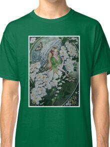 Spiraea ,fairy, faerie, fantasy, white shrub, bush  Classic T-Shirt