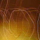 Golden Rain Circles by FrogGirl