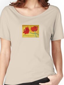 Tulips and Psalm 100 Women's Relaxed Fit T-Shirt