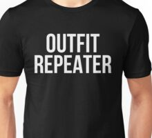 Outfit Repeater (White) Unisex T-Shirt