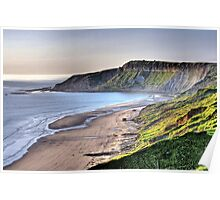 """Morning At Cayton Bay"" Poster"