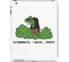 Daleks do not Make Good Ninjas iPad Case/Skin