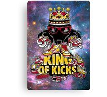 King Of Kicks Canvas Print