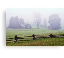 Fog Afield_1 Canvas Print