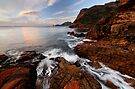 Sleepy Bay Morning Flow by Robert Mullner