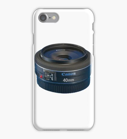 Canon EF 40mm f/2.8 STM iPhone Case/Skin