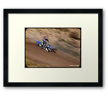 Justin Bush Framed Print