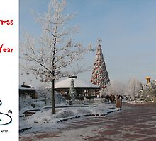Christmas Hoilday Card 5546 - Santa's Garden LIDO Riga Latvia by FirstTree