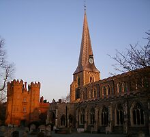st mary's church, hadleigh by uncleblack