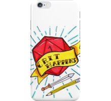 Crit Happens iPhone Case/Skin