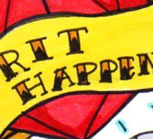 Crit Happens Sticker