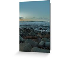 Saltwater Sunset Greeting Card