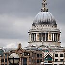 St Paul's Cathedral Dome by Karen E Camilleri