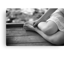 an afternoon with her Canvas Print